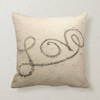 Love In The Sand Pillow
