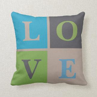 LOVE Infant Nursery Neutral Decor Pillow