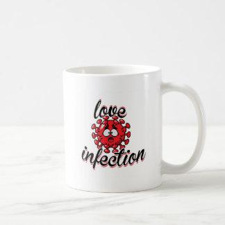 Love Infection Virus mug red network