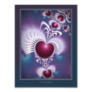 Love Infinity Photo Print Enlargement