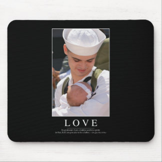 Love: Inspirational Quote Mouse Pad