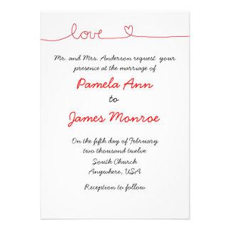 Love Invitations