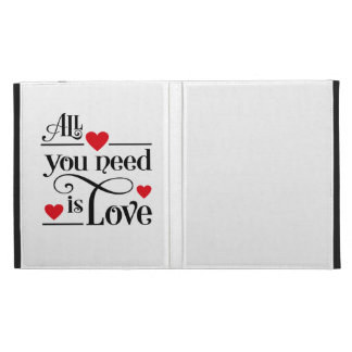 love iPad cases