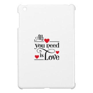 love iPad mini case