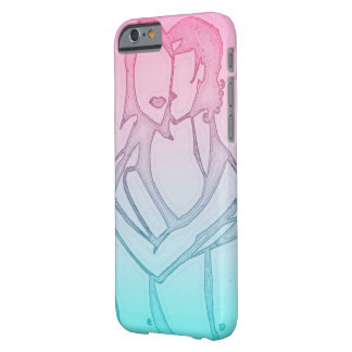 """Love"" iPhone case pastel colors Barely There iPhone 6 Case"