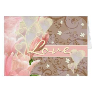 Love is 1 Corinthians 13:4-8 NIV Note Card
