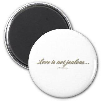 """""""Love is...."""" ( 1 Corinthians 13 ) Magnets"""