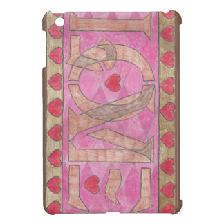 Love is a four letter word case for the iPad mini