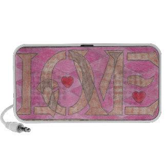Love is a four letter word mini speaker