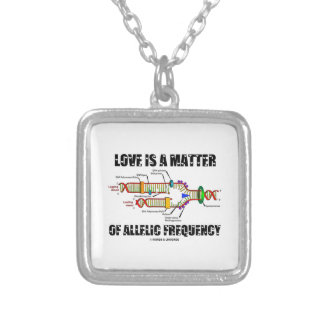 Love Is A Matter Of Allelic Frequency (DNA) Jewelry