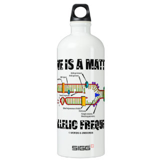 Love Is A Matter Of Allelic Frequency (DNA) SIGG Traveller 1.0L Water Bottle