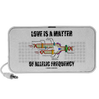 Love Is A Matter Of Allelic Frequency (DNA) Speaker System
