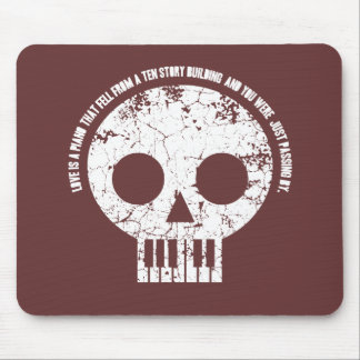 Love is a Piano Mouse Pad