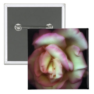 <Love is a Rose> by Nathan Griffith 15 Cm Square Badge