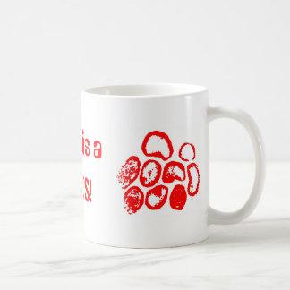 Love is a, VIRUS! Basic White Mug