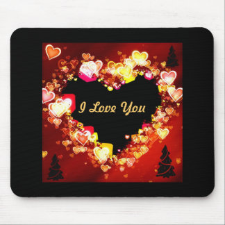 """Love Is Ablaze At Christmas Time "" * Mouse Pad"