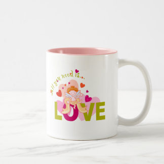 Love is All You Need Coffee Mug