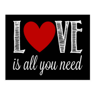 Love is All You Need Postcard