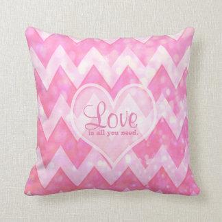 Love is All You Need Throw Cushion