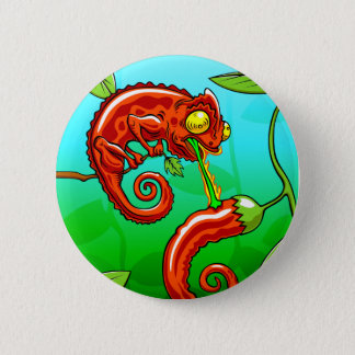 love is blind - chameleon fail 6 cm round badge