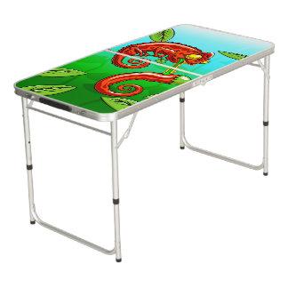 love is blind - chameleon fail beer pong table
