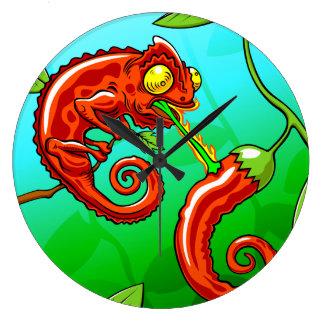 love is blind - chameleon fail large clock