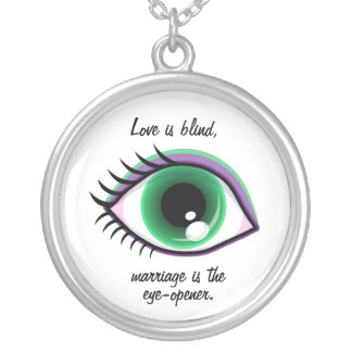 Love is blind Necklace