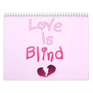 Love Is Blind Wall Calendar