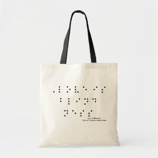Love Is Blindness Budget Tote Bag