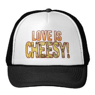 Love Is Blue Cheesy Cap