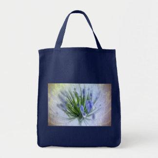 Love is blue tote bag