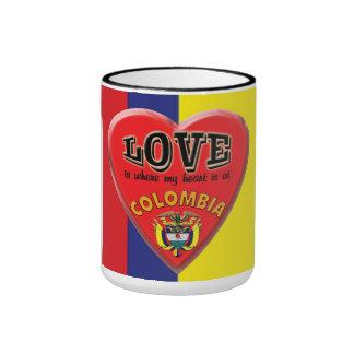 Love is Colombia - Coffee Mug