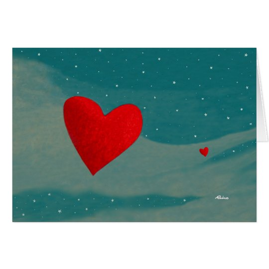 Love is Coming Your Way... By Rino Li Causi Card