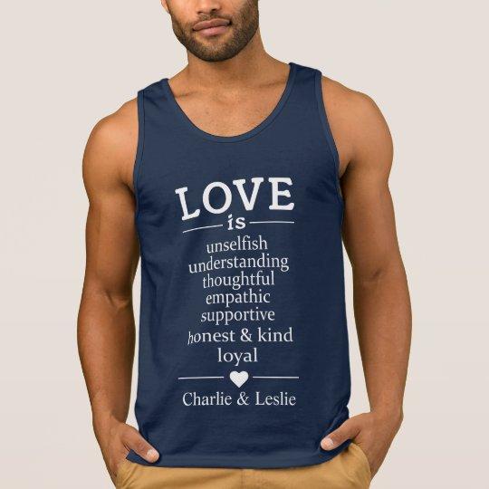Love Is …custom names & date shirts &