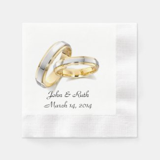 Love Is Divine Printed Paper Napkins
