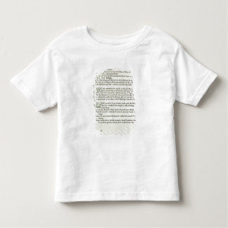 Love is enough, 1897 toddler T-Shirt