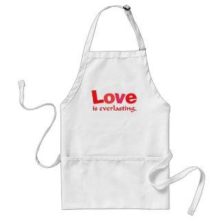 Love Is Everlasting Adult Apron