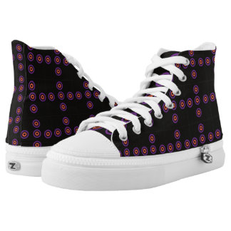 Love is Everywhere High Top Shoes