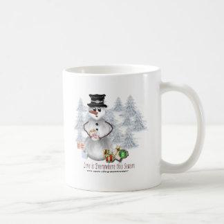 Love is Everywhere Snowman Mug