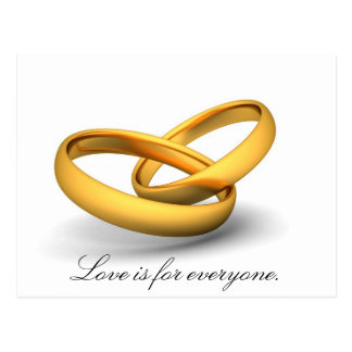 Love Is For Everyone Postcard