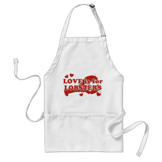Love Is For Lobsters Standard Apron