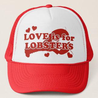 Love Is For Lobsters Trucker Hat