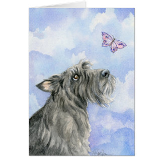 Love is Forever Scottie and Butterfly Card