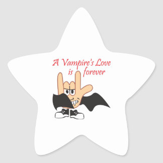 LOVE IS FOREVER STAR STICKERS