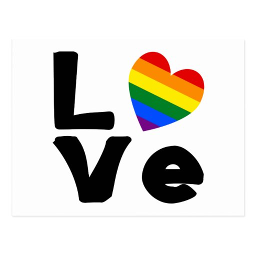 Love is Gay Post Card