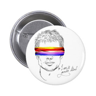 Love Is Gender Blind 6 Cm Round Badge