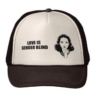 Love is gender blind cap