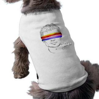 Love Is Gender Blind Dog T-shirt