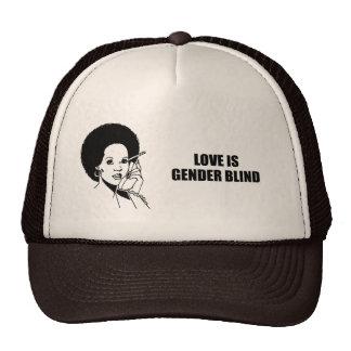 Love is gender blind trucker hats