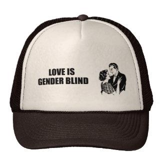 Love is gender blind mesh hat